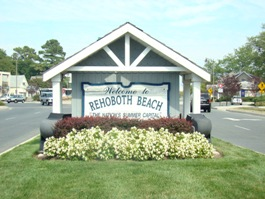 Rehoboth Sign Small